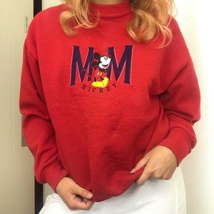Vintage Mickey Mouse crew neck sweater ❤️